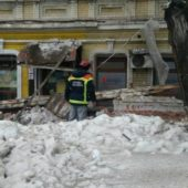 В Саратове частично обрушился памятник архитектуры