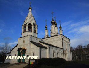 Благовещенский храм — Рязань, улица Затинная, 58