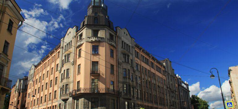 Доходный дом Р.И. Бернштейна — Санкт-Петербург, Каменноостровский проспект, 54