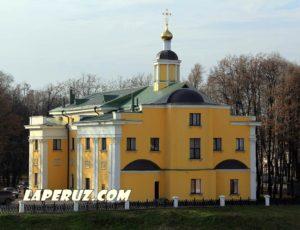 Ильинский храм (Рязанское епархиальное управление) — Рязань, Соборная площадь, 3