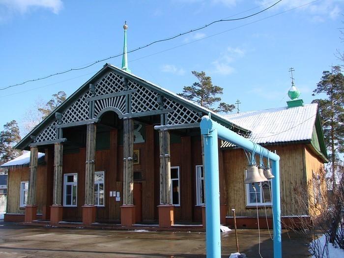 Храм Успения Божией Матери — Ангарск, 38, микрорайон Новый-4
