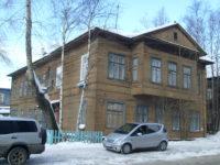 В Архангельске загорелся памятник архитектуры