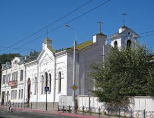 Церковь Александра Невского — Керчь, улица Свердлова, 20