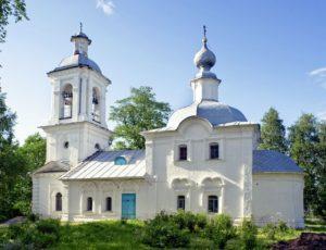 Церковь Богоявления Господня — Белозерск, улица Карла Маркса, 45