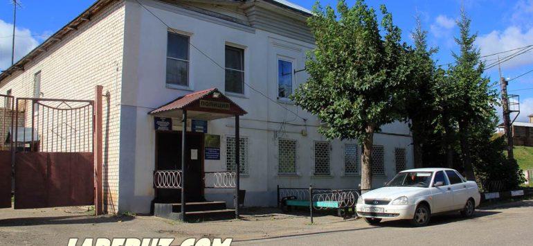 Городская ратуша (ОВД по Лухскому муниципальному району) — Лух, улица Островского, 2