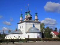 Собор Троицы Живоначальной — Лух, Советская площадь, 5