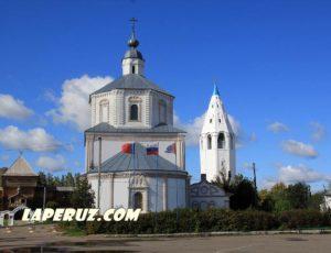 Церковь Успения Пресвятой Богородицы — Лух, Советская площадь, 5