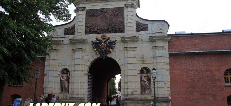 Петровские ворота — Петропавловская крепость