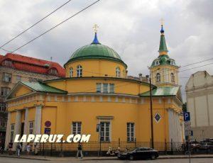 Церковь Александра Невского — Рига, Brīvības iela, 56