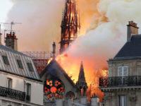 Пожар в Нотр-Дам полностью потушен