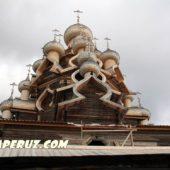 На Кижах закончилась реставрация Преображенской церкви