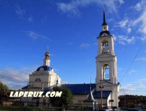 Церковь Благовещения Пресвятой Богородицы — Кинешма, улица Рылеевская, 9
