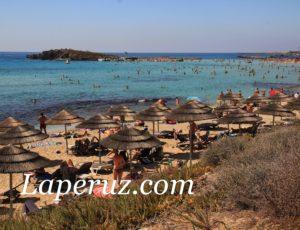 Айя-Напа. Сказочный пляж у дюны