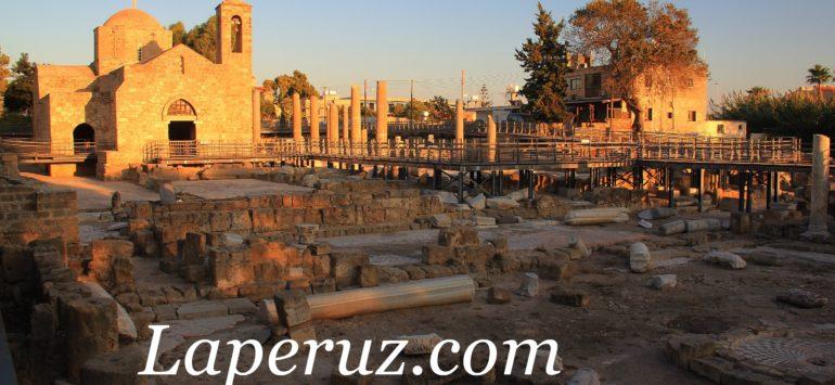 Пафос. Колонна апостола Павла, древний храм и турецкие бани