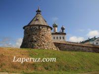 Стены и башни Соловецкого монастыря