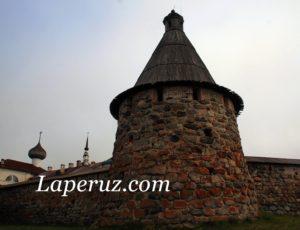 Прядильная (Стратилатовская) башня — Соловецкий монастырь