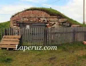 Мясной валунный погреб — Большой Соловецкий остров
