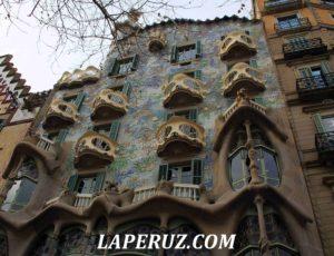 Дом Бальо в Барселоне. Море в камне
