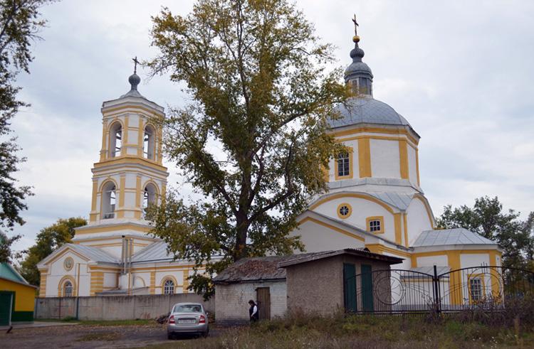 Церковь Покрова Пресвятой Богородицы — Лиски, улица Первомайская, 72А