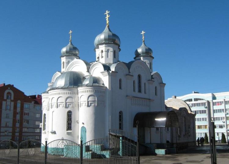 Церковь Рождества Христова — Лиски, улица Свердлова, 76А