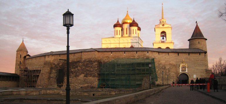 Псковский Кром. Самая крепкая крепость