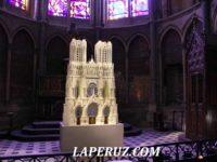 Реймсский собор: Жанна д'Арк, дофин и Улыбающийся ангел