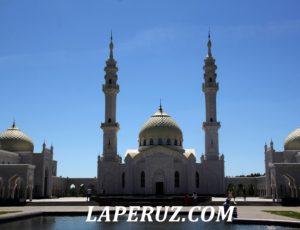 Великий Болгар. Малый городок и макеты церквей