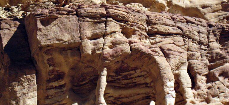 Египет. Красное море и пешком по Цветному каньону
