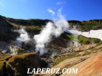 Камчатская геотермальная станция и малая долина гейзеров