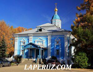 Знаменская церковь — Арзамас, площадь Гагарина, 9