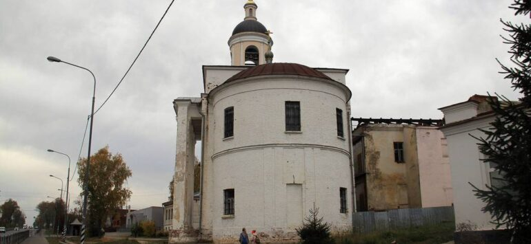 Церковь Иоакима и Анны — Боголюбово, улица Ленина, 48