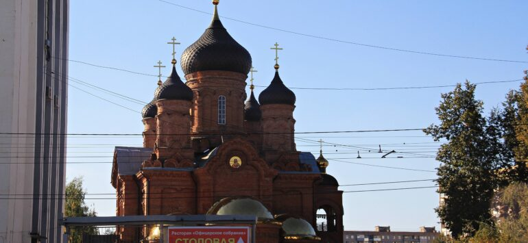 Храм Владимирской иконы Божией Матери — Иваново, улица Лежневская, 118А