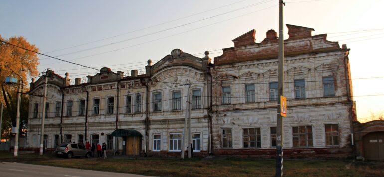 Первый военный комиссариат (Балаковский филиал РАНХиГС) — Балаково, улица Советская, 60