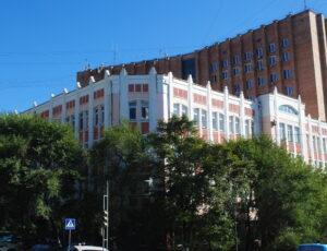 Здание Главсевморпути (Владивостокский родильный дом №4) — Владивосток, улица Алеутская, 38
