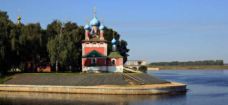 Углич. Кремль, где убили ребёнка