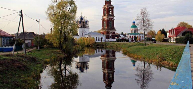 Юрьев-Польский. Монастыри и церкви