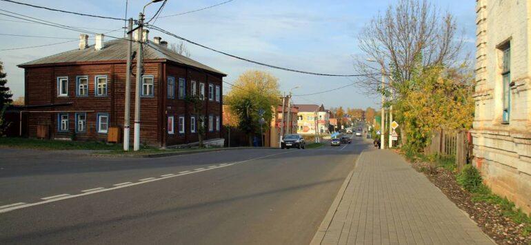 Юрьев-Польский за городскими валами