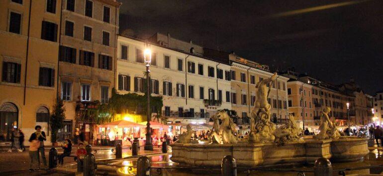Площадь Навона в Риме. Лучшее мороженое Вечного города