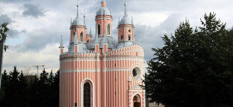 Чесменские. Дворец, церковь и кладбище