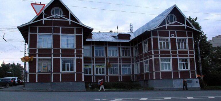 Административное здание «Кареллеса» — Петрозаводск, проспект Ленина, 22А