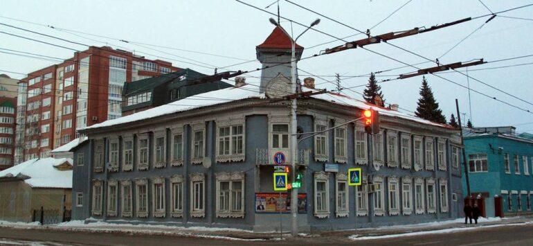Особняк Бухартовских — Уфа, улица Аксакова, 48