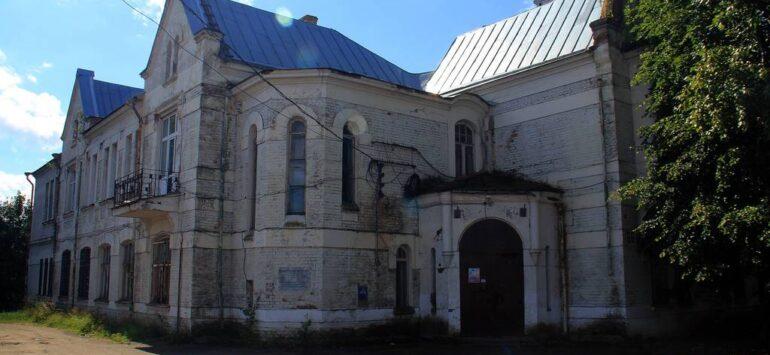 Здание бывшей администрации фабрики «Рольма» — Ростов Великий, улица Пролетарская, 86, корпус 2